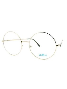 b3a461513a6 Product Image XL LARGE John Lennon Glasses Round Retro Clear Lenses  Sunglasses Nerd