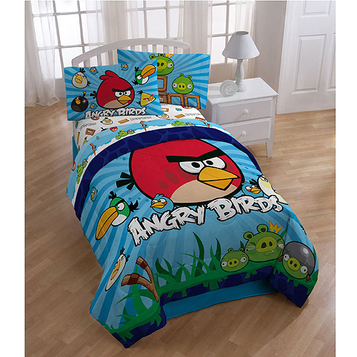 Angry Birds Reversible Comforter