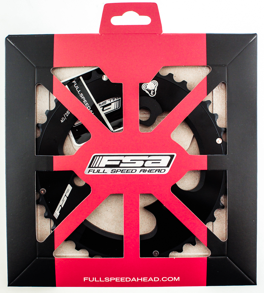 FSA AFTERBURNER 386 PRO Mtb Chainring M10 40t 86 BCD 3 Bolt Alloy Bike Black NEW