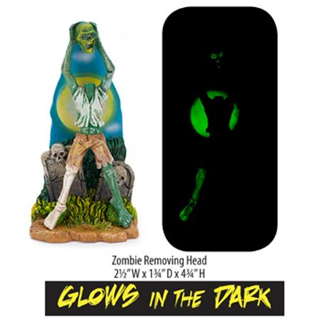 Zombie Lawn Ornaments (Penn Plax ZBR7 Zombie Removing Head Resin)