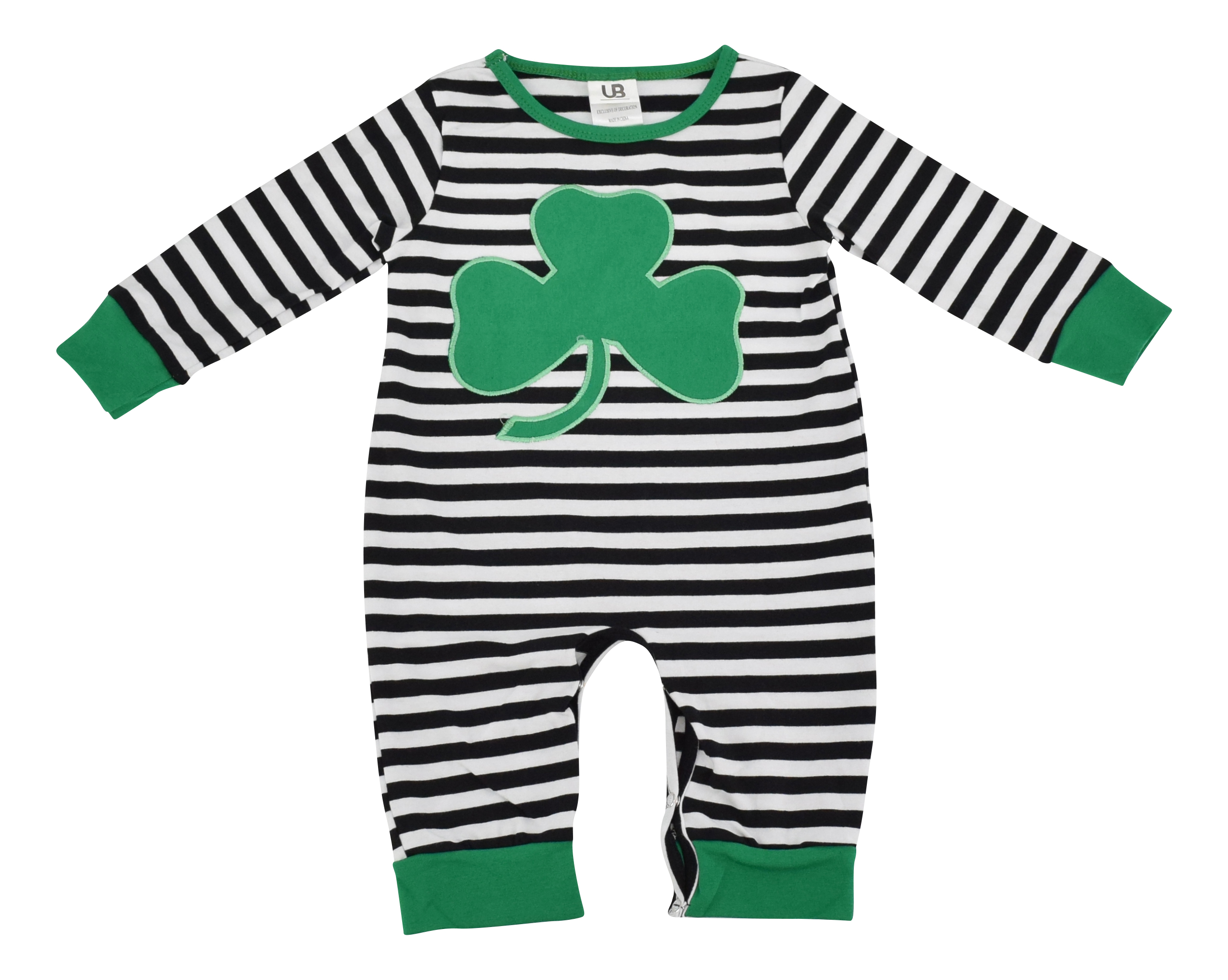 Unique Baby Girls 1st St Patricks Day Cutest Clover Shorts Layette