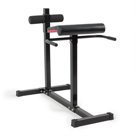 Akonza Roman Chair Hyper Extension Bench Sit Up Abs Workout Equipment Exercise Adjustable