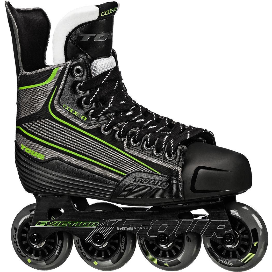 TOUR HOCKEY CODE 9 SR INLINE HOCKEY SKATE SIZE 12 by Tour