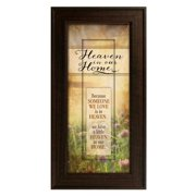 The James Lawrence Company 'Heaven in our Home' Framed Graphic Art