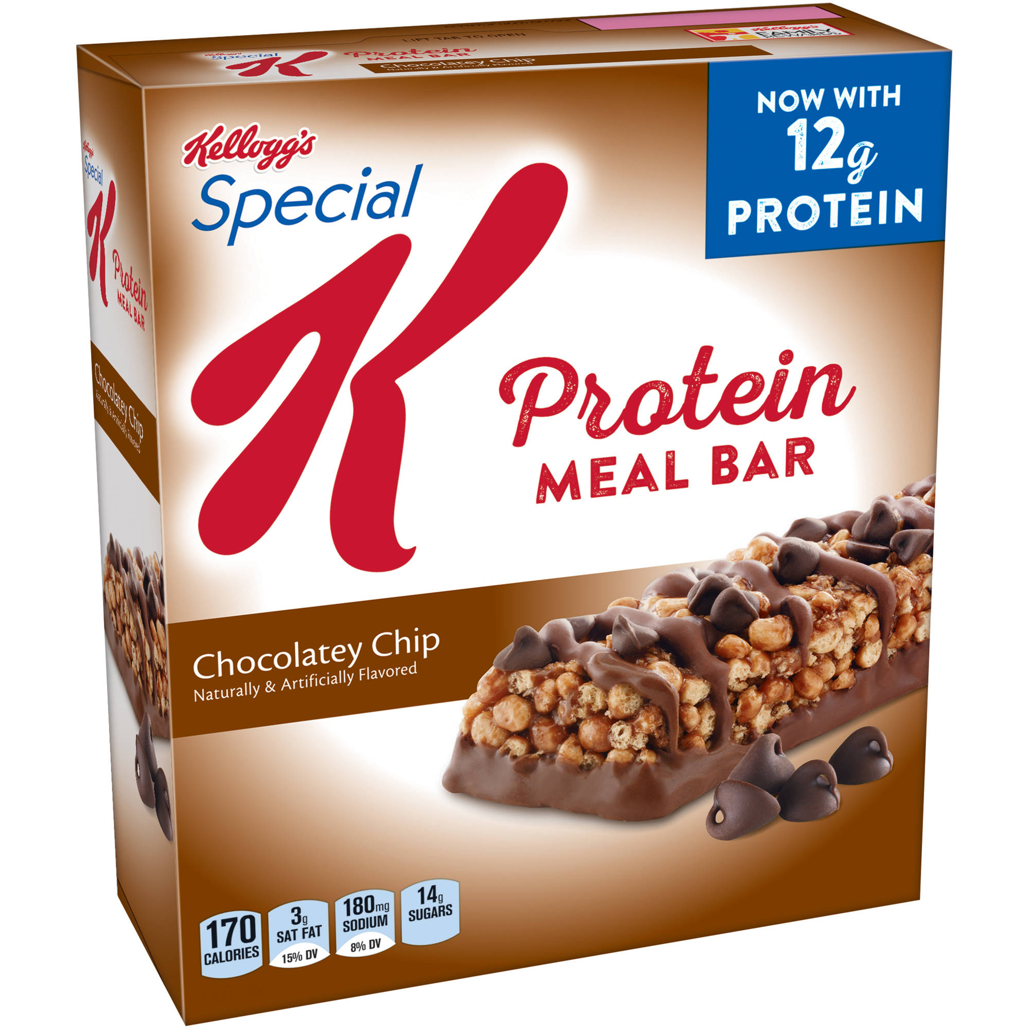 Special K Chocolatey Chip Protein Meal Bars, 9.5 oz, 6ct