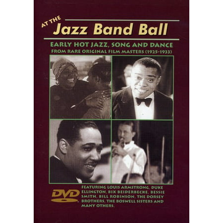At the Jazz Band Ball: Early Hot Jazz, Song and Dance From Rare Original Film Masters (1925-1933) (DVD)