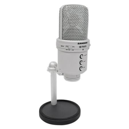 Samson G-Track Recording Audio Interface USB Condenser Studio Microphone (Behringer C 1u Usb Studio Condenser Microphone Review)