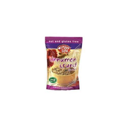 Enjoy Life Cinnamon Crunch Granola Cereal Gluten Free Non Fat, 12.8 OZ (Pack of 6)