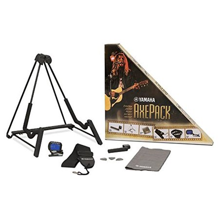 Axe Pack Guitar Accessory Kit for Electric & Acoustic Guitar, A-frame guitar stand, which will fit electric or acoustic guitars By Yamaha Ship from -