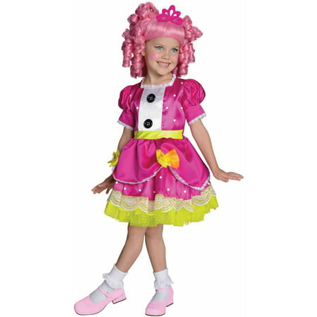Lalaloopsy Deluxe Jewel Sparkles Girls' Child Halloween Costume](Lalaloopsy Mittens Costume)