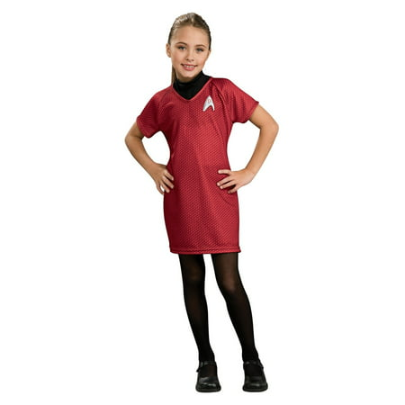 Star Trek Girls Deluxe Uhura Halloween Costume](Uhura Costume)