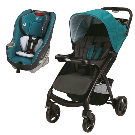 Graco Travel System W Click Connect Stroller Contender 65 Convertible Car Seat