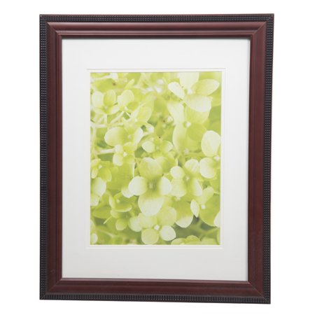 Gallery Solutions 14x18 Beaded Mahogany Frame Matted To 10x13