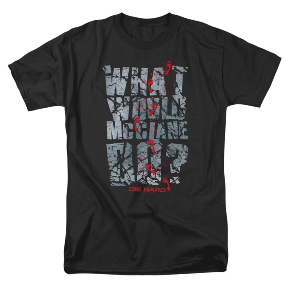 Die Hard Men's  Wwmd T-shirt Black