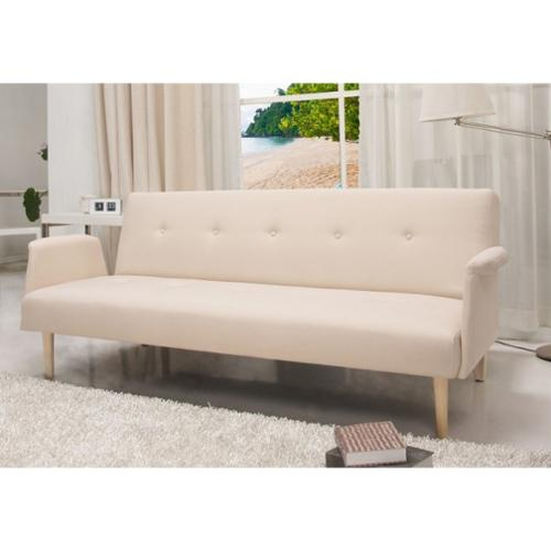 US Pride Furniture SB 9014 Contemporary Home Design Beige Fabric Sofa Bed Walmart