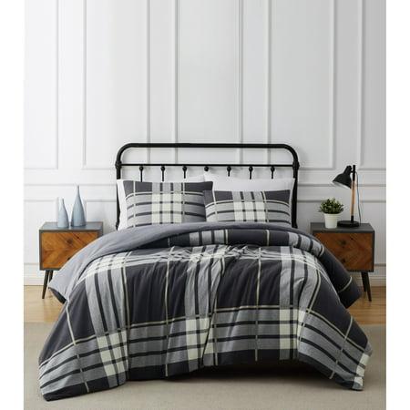 Truly Soft Milo Plaid 2-Piece Flannel Comforter Set