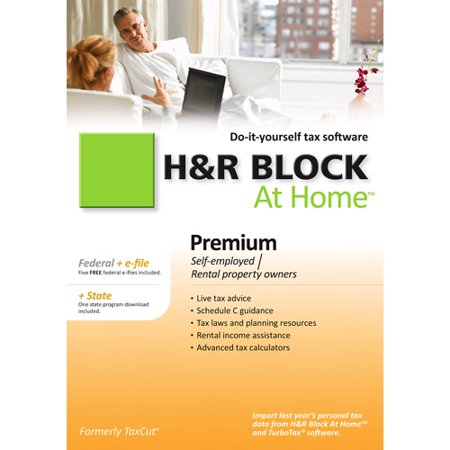 H Block At Home 2010 Premium Federal + State + eFile [Old Version]