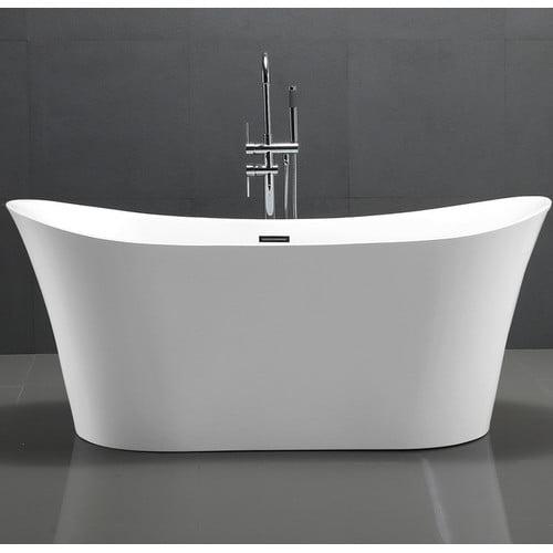 Kardiel HelixBath Amathous 67'' x 31'' Soaking Bathtub