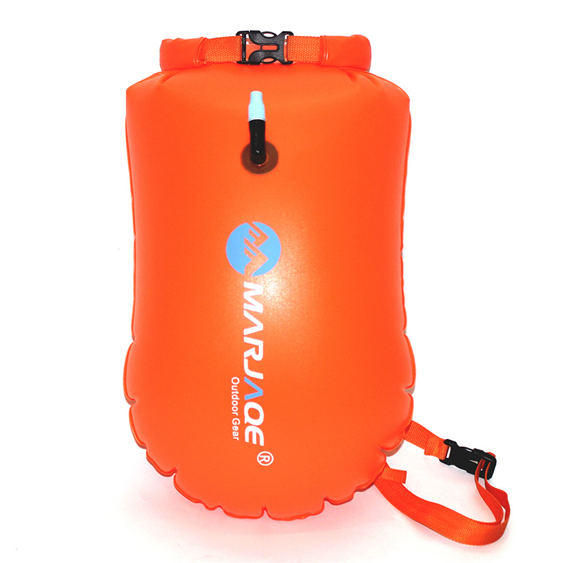 PVC Swimming Buoy Safety Float Air Tow Float Swimming Bag Flotation C6Y5