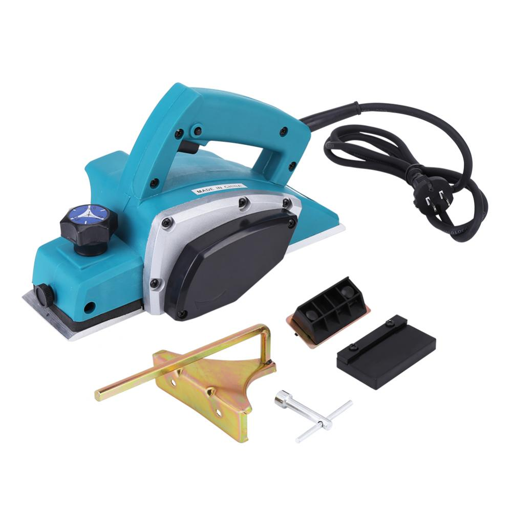 110V Portable Electric Wood Planer Hand Held Woodworking Power Tool for Home Furniture , Electric Wood Planer , Handheld Planer