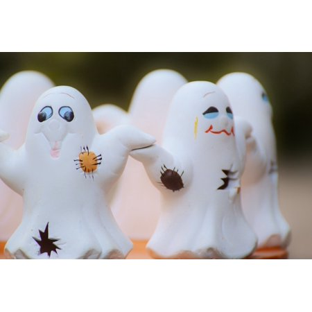 LAMINATED POSTER Cute Ghosts Halloween Ghost Group Poster Print 24 x 36](Cute Halloween Ghost Sayings)