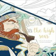 """Kaisercolour Perfect Bound Coloring Book 9.75""""X9.75""""-High Seas"""