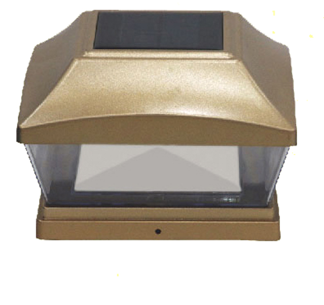 "Solar Post Cap 28 Lumens 6"" x 6"" SMD - Copper"