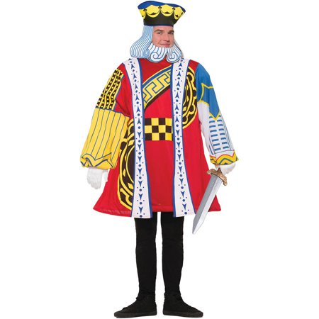 King of Cards Men's Adult Halloween - Halloween Action Cards