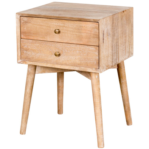 Wildon Home  2 Drawer Nightstand