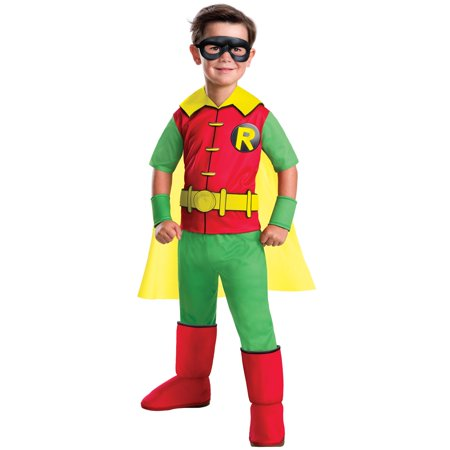 Robin Deluxe DC Comics Child Costume - Dc Robin Costume