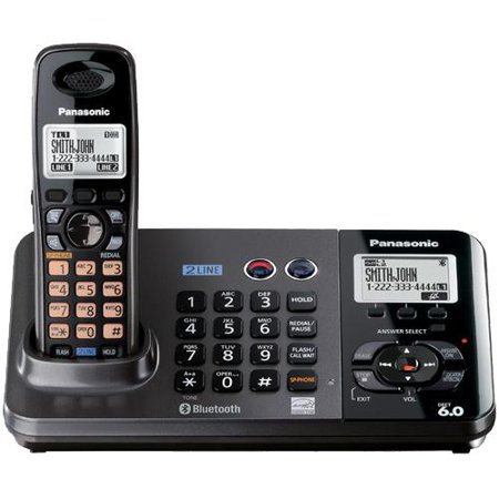 Panasonic KX-TG9381T 2-Line DECT 6.0 Cordless Phone by