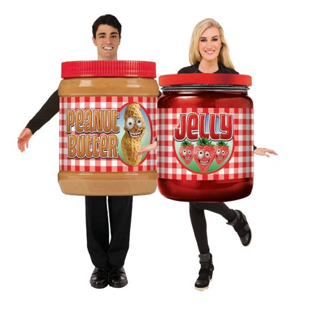 Peanut Butter Costume (Adult Peanut Butter and Jelly Costume)