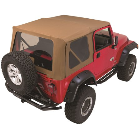 (Rampage 68317 Complete Replacement Soft Top with Frame and Hardware)