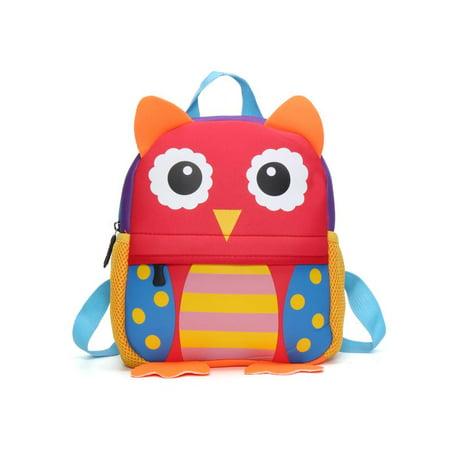 3D Cartoon Animal Backpack For Boys Children backpacks kids kindergarten  Small SchoolBag Girls Cute  d611c4650ef7e