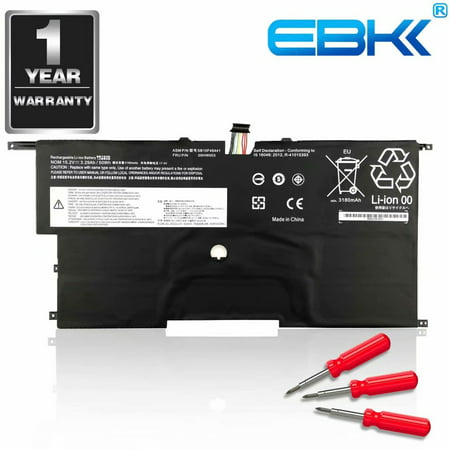 EBK 00HW003 SB10F46441 00HW002 SB10F46440 Battery fit for Lenovo ThinkPad  X1 Carbon Gen3 2015 Series[15 2V 50Wh]