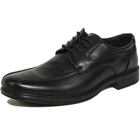 AlpineSwiss Mens Oxford Dress Shoes Lace Up Leather Lined Baseball Stitch