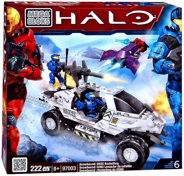 Halo Snowbound: UNSC Rockethog Set Mega Bloks 97003 by