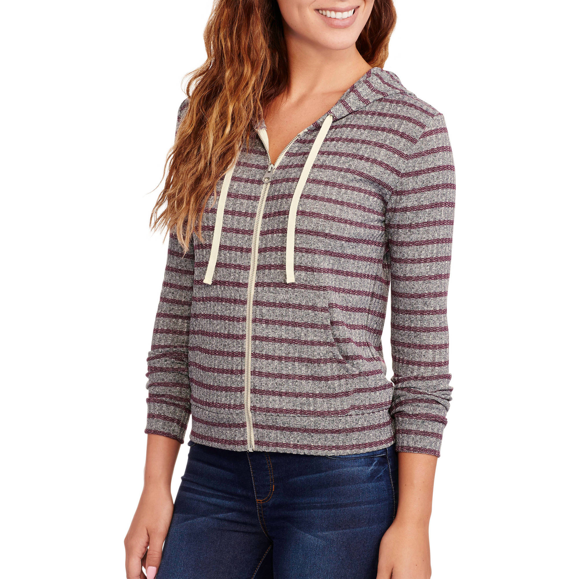 Concepts Women's Soft Ribbed Hoodie