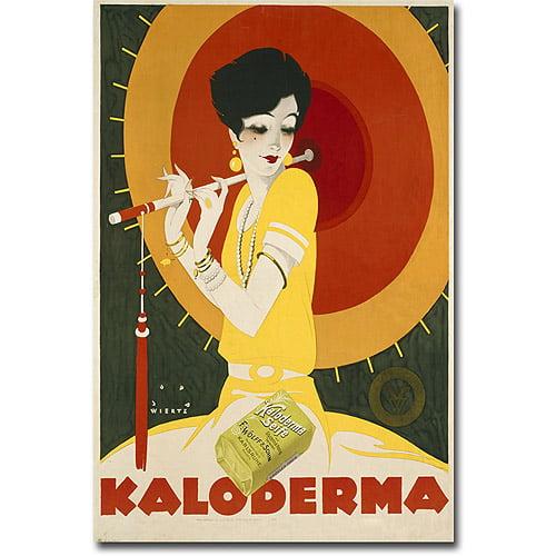 """Trademark Art """"Kaloderma Soap, 1927"""" Canvas Wall Art by Jupp Wiertz"""