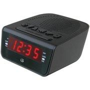 Gpx C224b 6 Quot Led Am Fm Alarm Clock