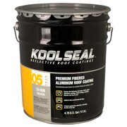 Kool Seal KS0024600-20 5 Gallon Fibered Aluminum Roof Coating