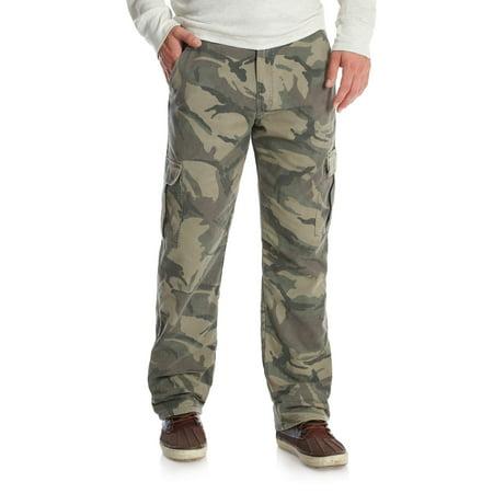 ee6a0180ce52c Wrangler - Wrangler Men's Fleece Lined Cargo Pant - Walmart.com