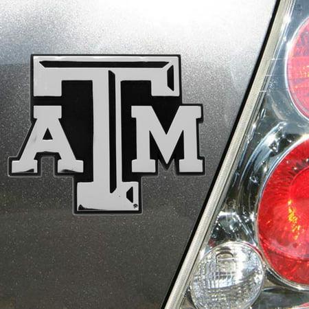 Texas A&M Aggies Premium Metal Car Emblem - No Size (Texas A&m Metal)