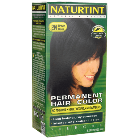 Naturtint Permanent Hair Color - 2N Brown-Black 1 (Best Box Color For Black Hair)