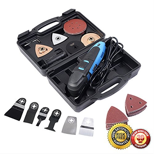 New MTN-G 80PCS Mini Saw Multi-Function Oscillating Tool Set For Wood Plastic Metal