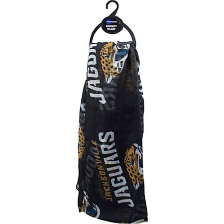 Little Earth NFL Sheer Infinity Scarf, Jacksonville Jaguars by