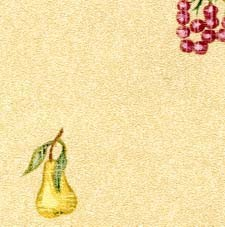 Dollhouse 3 Pack Prepasted Wallpaper: Fruit
