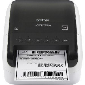 Brother QL-1110NWB Direct Thermal Printer - Monochrome - Desktop - Label Print - 118.11
