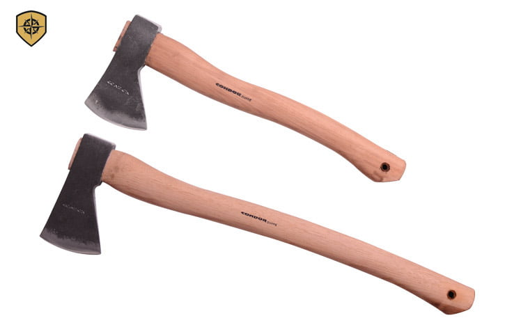 Condor Tool & Knife, Replacement Hickory Handle Greenland Pattern Hatchet by Condor Tool & Knife