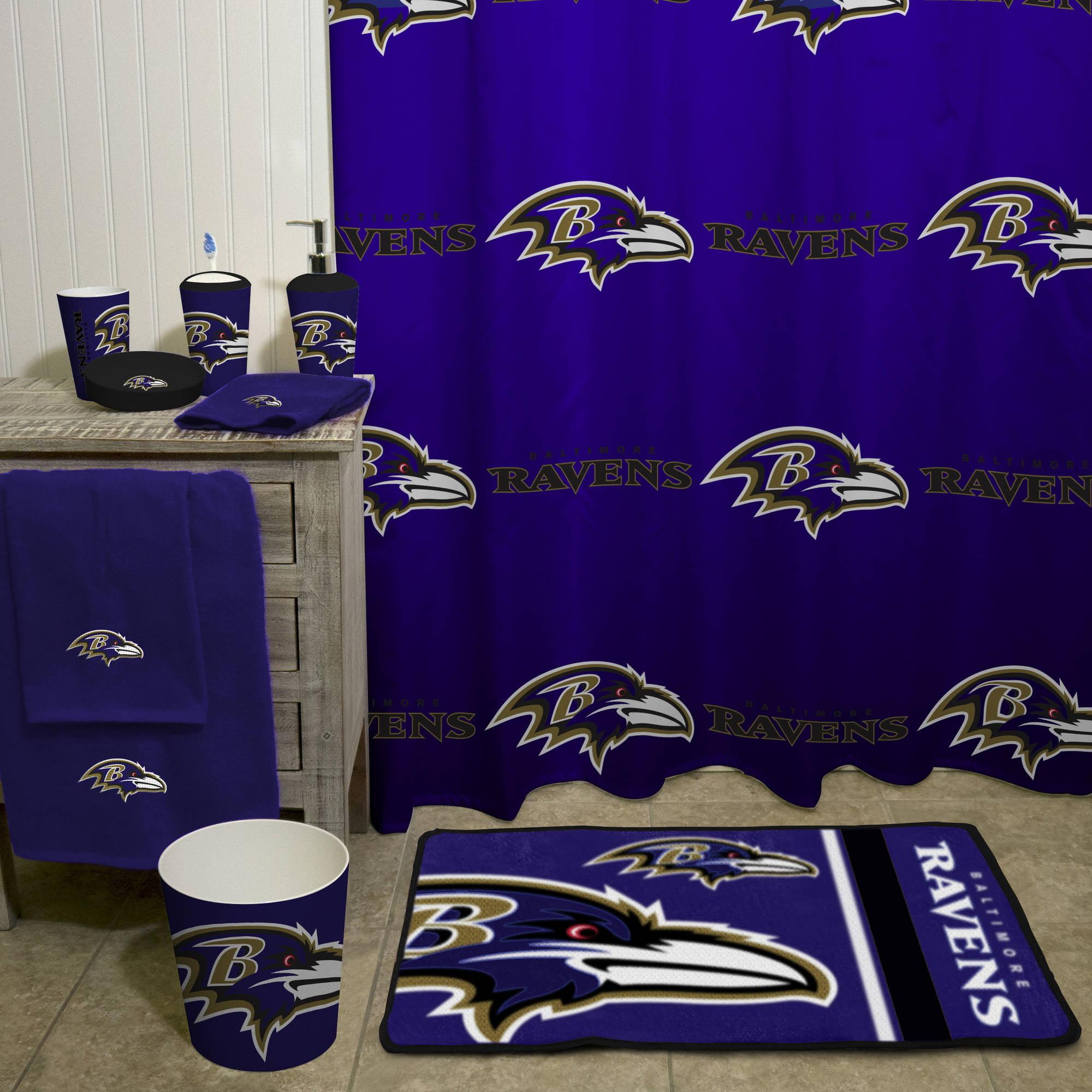 NFL Baltimore Ravens Bath Towel 1 Each